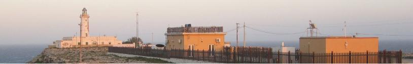 Lampedusa l'osservatorio climatico